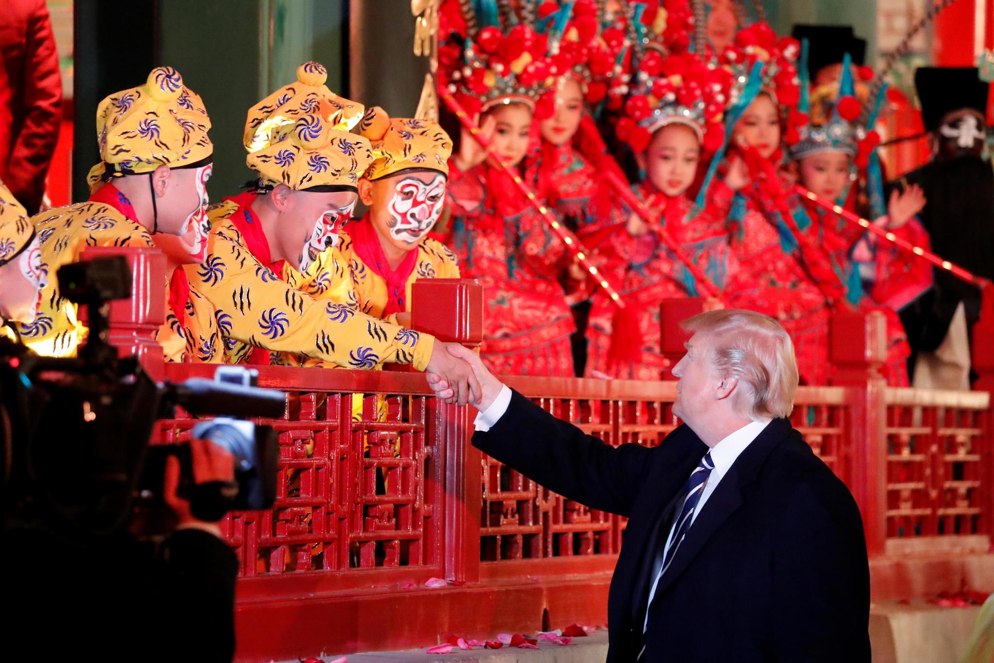 Donald Trump und Melania Trump auf großer Asienreise - S. 40 | GALA.de
